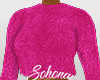 ṩFuzzy Sweater Pink