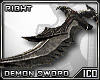 ICO Demon Sword R F