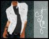 TJ White leather jacket