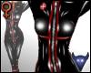 PVC Nurse suit black (f)