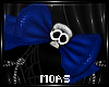 ~Blue Head Bow~