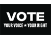 VOTE: VOICE+RIGHT Poster
