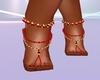 Samira feet jewelry