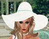 Spring Aquamarine Hat