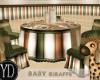 BABYSHOWER GIRAFFE TABLE