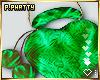 Pom-Pom Fur Heart Bag
