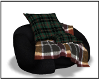 Fall flannel chair