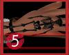 Skeleton Bracelet Black
