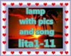 LAMP WİTH PİCS+ SONG