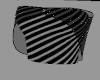 [B] Striped Sparkle Top