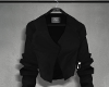 Cropped blazer.