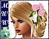 Wed Anne SK w/Pink Roses