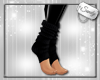 Wooly Ankle Warmers Blk
