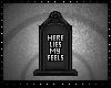 Here Lies my Feels Badge