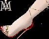 *GODDESS red&gold Shoes*