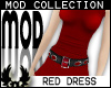 -cp Mod Red Dress