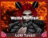 Wolfie Portrait 1