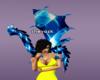 Blue Diamond Anim Dragon