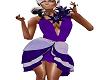 purpleflower dress