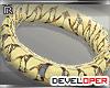 :D Gold Bracelet R