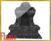 ancient vampire statue