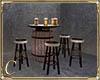 .:C:. Barrel Bar Table