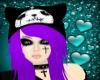Grape Emo Hair + Hat