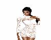 (goto) white lace dress