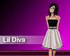 (M) Lil Diva Silver Dres