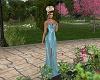 Venice Aqua Gown