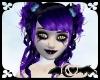 Candy Black Purple Tips