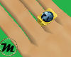 [M] Blue Zircon Ring