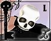 !X Skull Epaulette L