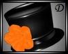 {D} Rose Hat ORANGE