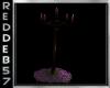 Purple Gothic Candelabra
