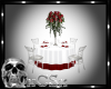 CS Red & White Wed Table