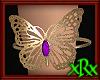 Butterfly Bracelet Purp