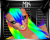 !Mk! Rainbow Hair F