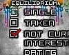 E| Not Looking Sticker