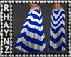 Long Summer Skirt *Blue