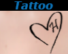Tattoo Chest H Heart