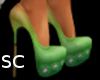 *SC* Summer Pumps Green