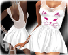 ^QA^ White Dress Cat