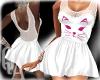 ^QA^ White Dress Cat