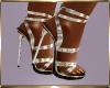 B16 Gold Heels