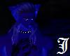 Night Wolf Blue Ears M