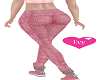 Pink Knit Leggings RL