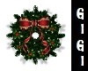 xmas wreath  animated