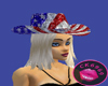 USA CowGirl Hat