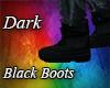 Dark Black Boots